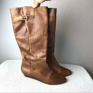 Steve Madden Intyce Leather Boots